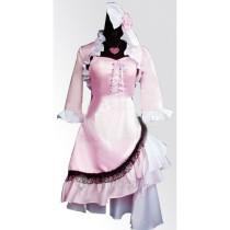 Shugo Chara Utau Hoshina Pink Cosplay Show Costume