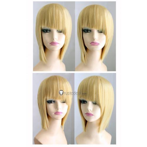Bleach Hirako Shinji Visored Short Blonde Cosplay Wig