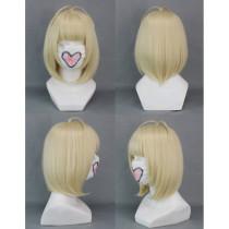 Blue Exorcist Moriyama Shiemi Short Pale Blonde Cosplay Wig
