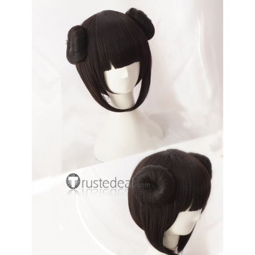 Onmyoji Yamausagi Black Cosplay Wig