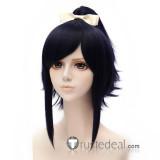 Touken Ranbu Online Yamatonokami Yasusada Dark Blue Cosplay Wig