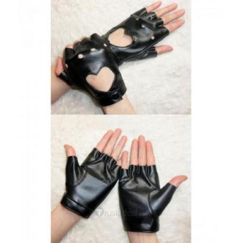Panty & Stocking with Garterbelt Black Cosplay Gloves