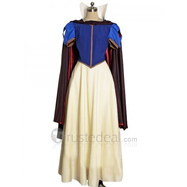Snow White and the Seven Dwarfs Snow White Cosplay Costume