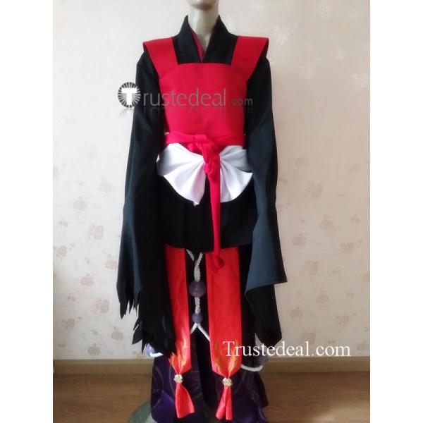 Onmyoji Ibaraki Doji Kimono Cosplay Costume