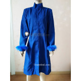 Tensei Shitara Slime Datta Ken Rimuru Tempest Human Form Blue Cosplay Costume