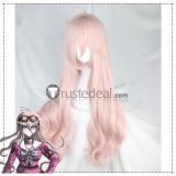 Danganronpa V3 Killing Harmony Miu Iruma Monaca Towa Pink Green Cosplay Wigs