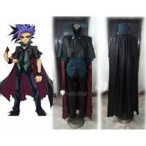YuGiOh The Dark Duelist Yuto Black Cosplay Costume