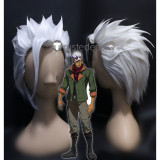 Mobile Suit Gundam Iron-Blooded Orphans Orga Itsuka Silver Styled Cosplay Wig