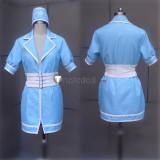 Super Sonico Sonico Nurse Blue Pink Cosplay Costumes