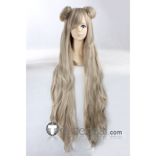 Code Geass Akito the Exiled Leila Malcal Little Grey Cosplay Wig