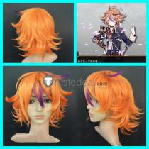 Touken Ranbu Gotou Toushirou Orange Cosplay Wig