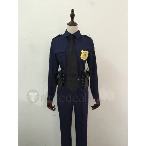 Zootopia Nick Wilde and Judy Hopps Police Officer Cosplay Costumes