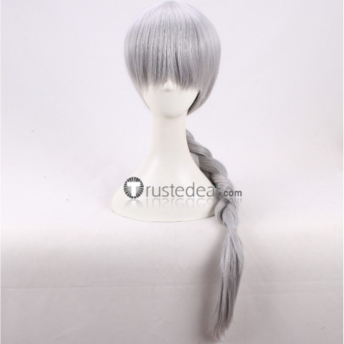 Howl's Moving Castle Sophie Hatter Silver Gray Cosplay Wig