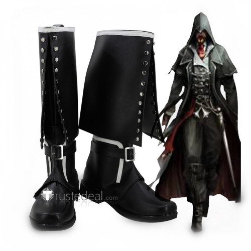 Assassin's Creed Syndicate Jacob Frye Cosplay Boots Shoes