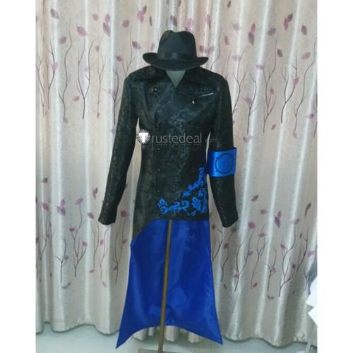 Devil May Cry 5 Vergil Black Cosplay Costume