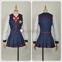Love Live Sunshine Saint Snow Sarah Kazuno Blue School Uniform Cosplay Costume