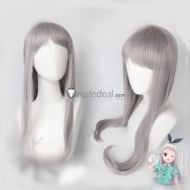 Blend S Hideri Kanzaki Long Silver Gray Cosplay Wig - Ready to Ship