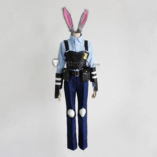 Zootopia Officer Judy Hopps Cosplay Costume
