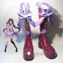 Love Live Nozomi Umi Nico Eli Maki Tojo Kotori Rin Honoka Hanayo Valentine's Day Maid Cosplay Boots Shoes