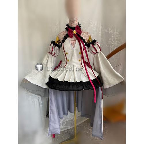 Owari no Serafu Seraph of the End Bloody Blades Game Krul Tepes Black White Cosplay Costumes 2