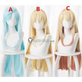 Arifureta Shokugyou de Sekai Saikyou Yue Shea Haulia Blonde Blue Cosplay Wigs