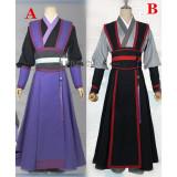 Mo Dao Zu Shi Wei Wuxian Jiang Cheng Cosplay Costumes
