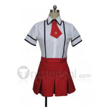Baka to Tesuto to Shokanjuu Shimuzu Miharu Cosplay Costume