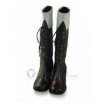 Hetalia Finland Tino Vainamoinen Brown Cosplay Boots Shoes