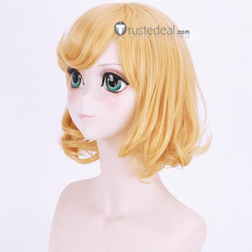 Kakegurui Itsuki Sumeragi Golden Cosplay Wigs