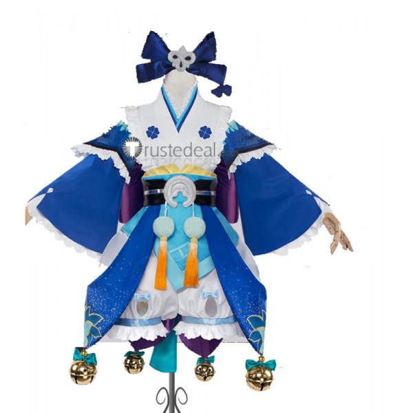 Onmyoji Kusa Autumn Maple Cosplay Costume