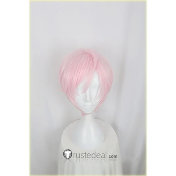 Act! Addict! Actors! A3! Summer Troupe Sakisaka Muku Pink Cosplay Wig