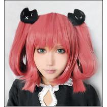 Chunibyo Satone Shichimiya Pink Cosplay Wig
