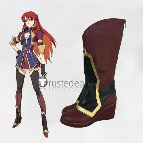 Re Creators Selesia Upitiria Cosplay Boots