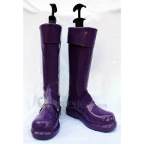 Pokemon Adventures Trainer Yellow Purple Cosplay Boots Shoes