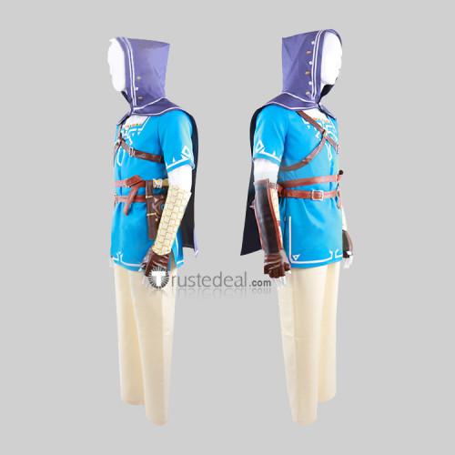 The Legend of Zelda Breath of the Wild Link Cosplay Costume