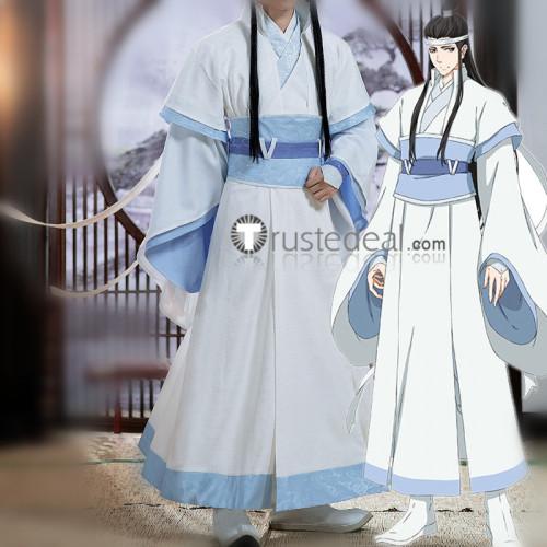 Mo Dao Zu Shi Grandmaster of Demonic Cultivation Lan Xichen Lan Huan Young Cosplay Costume