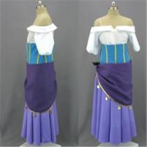 The Hunchback of Notre Dame Disney Princess Esmeralda Cosplay Costume