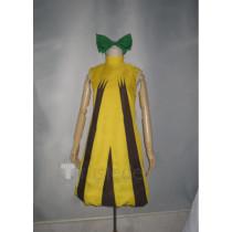 Pokemon Sunkern Gijinka Yellow Cosplay Costume