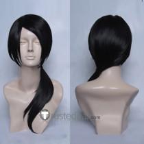 Hetalia Axis Powers APH China Wang Yao Black Cosplay Wig