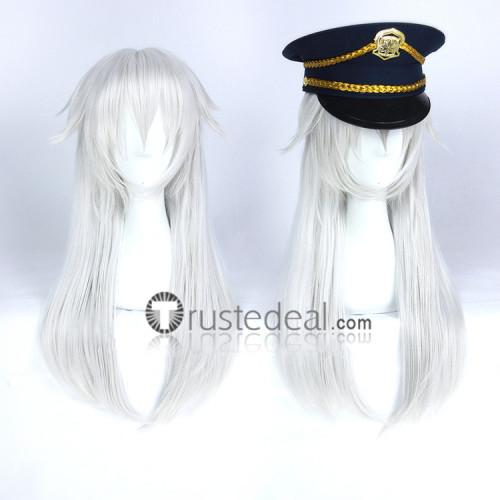 Tokyo Ghoul Ken Kaneki Genderbend Silver Cosplay Wig