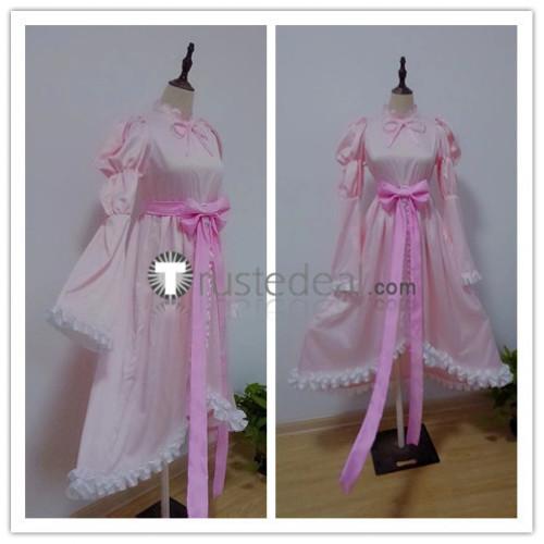 Shugo Chara Amu Hinamori Amulet Angel Pink Lolita Cosplay Costume
