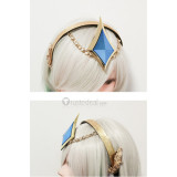 League of Legends LOL Lux Light Elementalist Cosplay Boots and Headdress