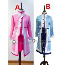 Fushigiboshi no Futagohime Twin Princess of Wonder Planet Fine Rein Pink Blue Cosplay Costumes