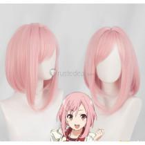 Sakura Quest Koharu Yoshino Pink Cosplay Wig