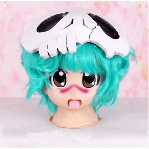 Bleach Nelliel Tu Odelschwanck Kids Chibi Short Blue Green Cosplay Wig