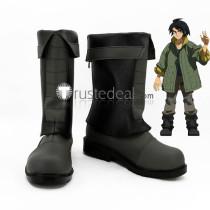 Mobile Suit Gundam IRON BLOODED ORPHANS Mikazuki Augus Mika Cosplay Boots Shoes