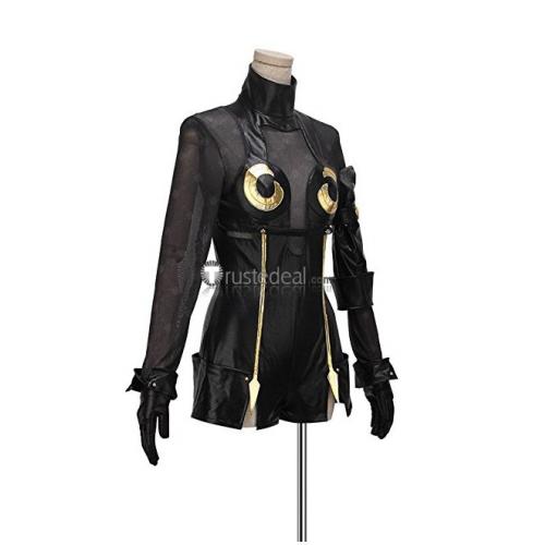 Nier Automata Operator 6O 21O Black Cosplay Costume