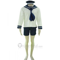Hetalia: Axis Powers N. Italy Sailor Suit Cosplay Costume