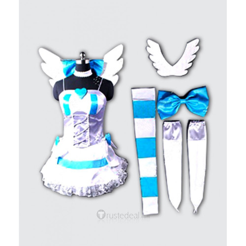 Panty and Stocking with Garterbelt Angel Stocking Cosplay Costume 2