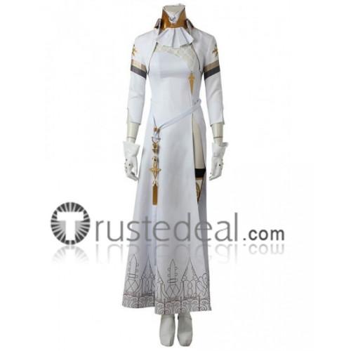 NieR Automata YoRHa Commander White Cosplay Costumes